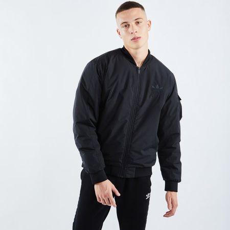 adidas Chile 20 Bomber - Men Jackets - Black - 100% Polyester - Size XS - Foot Locker