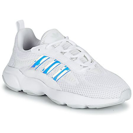 adidas  HAIWEE J  girls's Shoes (Trainers) in White