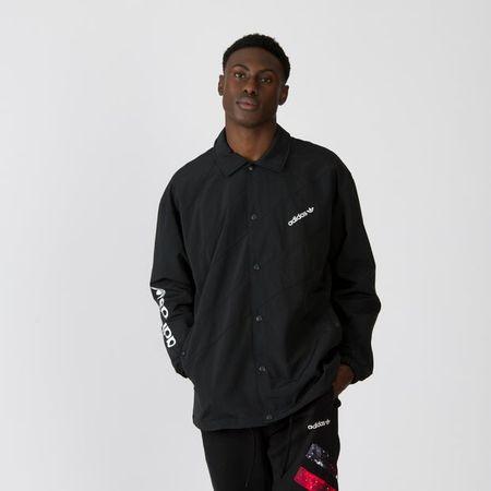 adidas Spirit Basketball Coach - Men Jackets - Black - Nylon - Size XS - Foot Locker