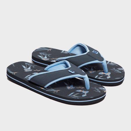 Animal Women's Swish Aop Flip Flop - Blue, Blue