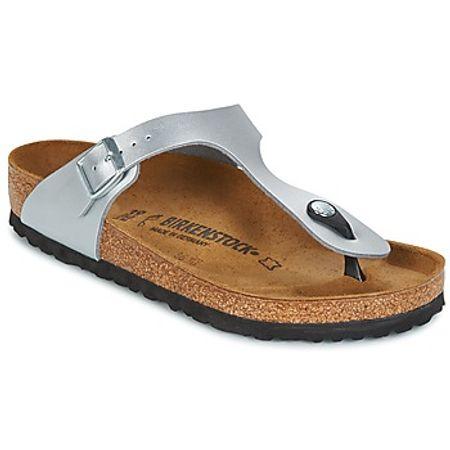 Birkenstock  GIZEH  women's Flip flops / Sandals (Shoes) in Silver