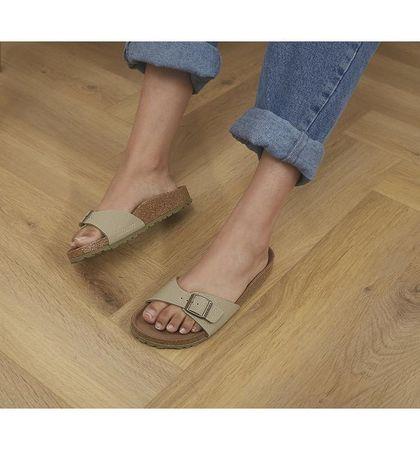 BIRKENSTOCK Madrid 1 Bar Mule Sandals FADED KHAKI