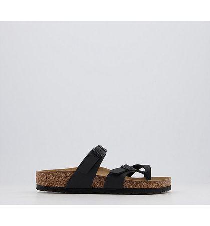 BIRKENSTOCK Mayari Cross Strap Sandal BLACK