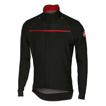 CASTELLI Perfetto Convertibile Light Jacket/ Short Sleeve Jersey, black Light Ja