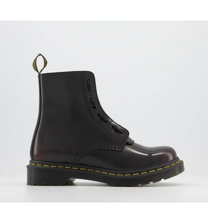 Dr. Martens 1460 Pascal Front Zip CHERRY RED ARCADIA