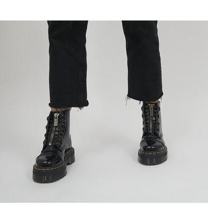 Dr. Martens Sinclair Vegan Boots BLACK
