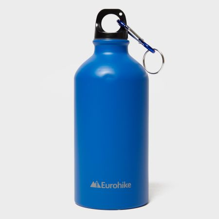 Eurohike Aqua 0.5L Aluminium Water Bottle - Blue, Blue