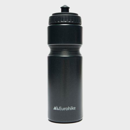 Eurohike Squeeze Sports Bottle 700Ml - Black, Black