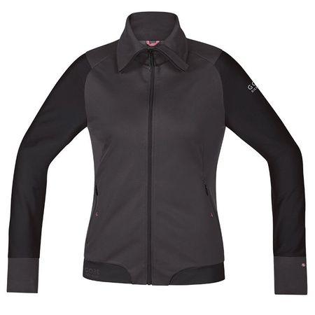 GORE WEAR Power Trail Women's Wind Jacket, brown-black Women's Wind Jacket, size