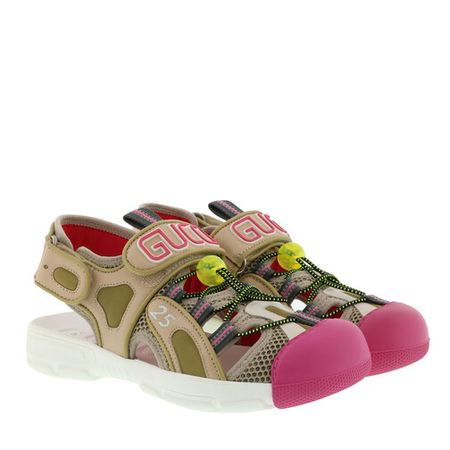 Gucci Sandals - Sandals Leather/Mesh - colorful - Sandals for ladies