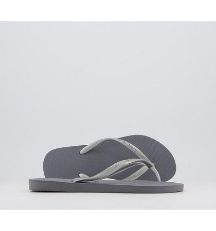 Havaianas Slim Flip Flops GREY