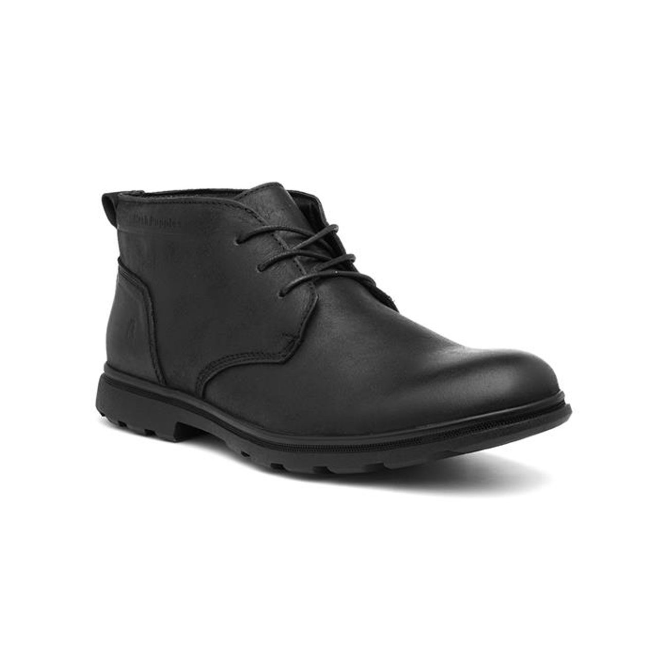 Hush Puppies Mens Tyson Lace Up Leather Ankle Chukka Boots