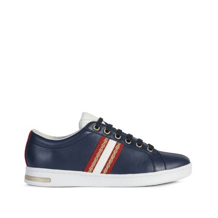 Jaysen Leather Mix Trainers