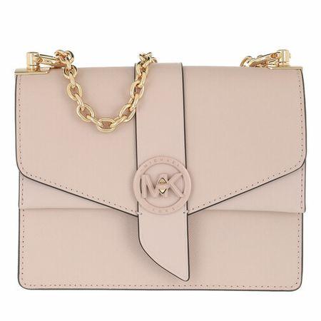 Michael Kors Crossbody Bags - Greenwich Crossbody Handbag Leather - magenta - Crossbody Bags for ladies