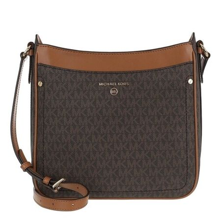 Michael Kors Crossbody Bags - Jet Set Charm Crossbody Handbag - brown - Crossbody Bags for ladies