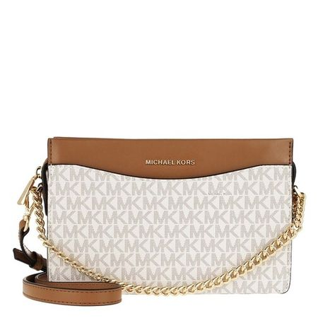 Michael Kors Crossbody Bags - Jet Set Large Chain Xbody - fawn - Crossbody Bags for ladies