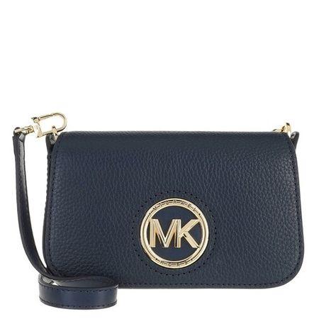 Michael Kors Crossbody Bags - Samira Small Convertible Crossbody Bag - blue - Crossbody Bags for ladies