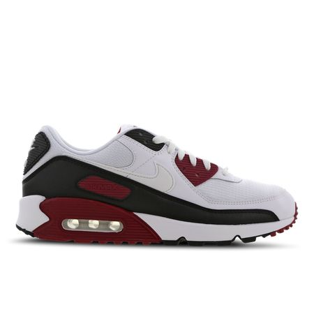 Nike Air Max 90 - Men Shoes - White - Textile, Leather - Size 6 - Foot Locker