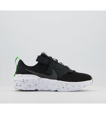 Nike Crater Impact Trainers BLACK IRON GREY DARK SMOKE GREY GREEN WHITE