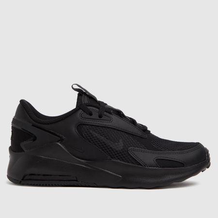 Nike Kids Black Air Max Bolt Trainers, Size: 4