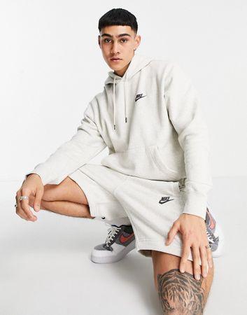 Nike Revival hoodie in off white