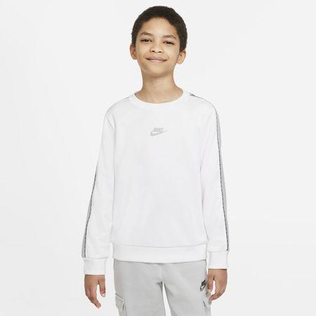 Nike Sportswear Older Kids' (Boys') Crew Sweatshirt - White
