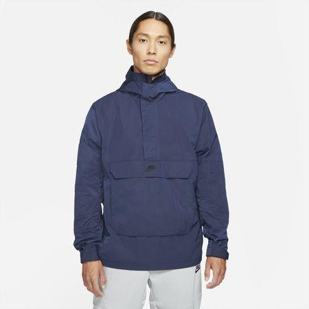 Nike Sportswear Premium Essentials Men's Unlined Hooded Anorak - Blue