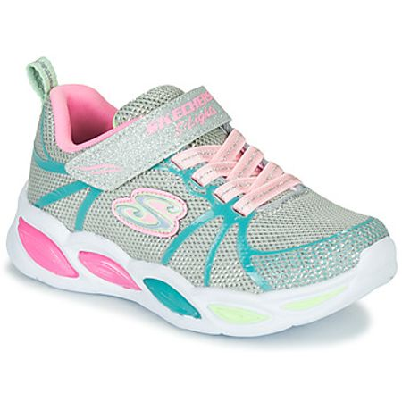 Skechers  SHIMMER BEAMS  girls's Shoes (Trainers) in Silver