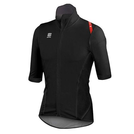 SPORTFUL Fiandre Light NoRain Short Sleeve Light Jacket, black Light Jacket, for