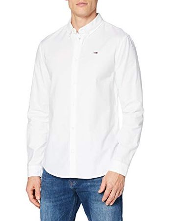 Tommy Jeans Men's TJM Slim Stretch Oxford Shirt T