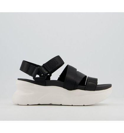 UGG LA Shores Sandals BLACK