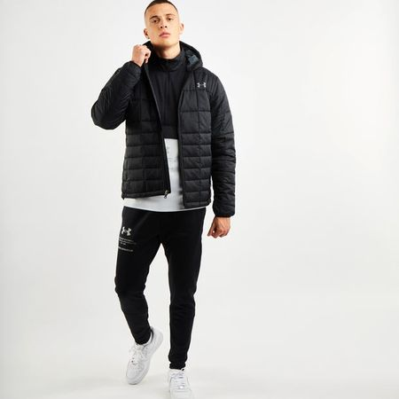 Under Armour Fleece Insulated - Men Jackets - Black - Nylon - Size S - Foot Locker
