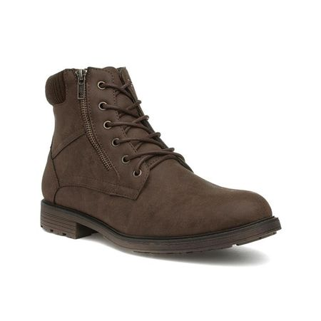 Urban Territory Mens Brown Lace Up Ankle Boot
