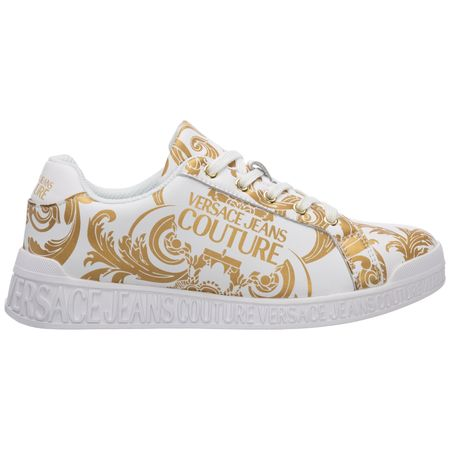Women's shoes leather trainers sneakers baroque
