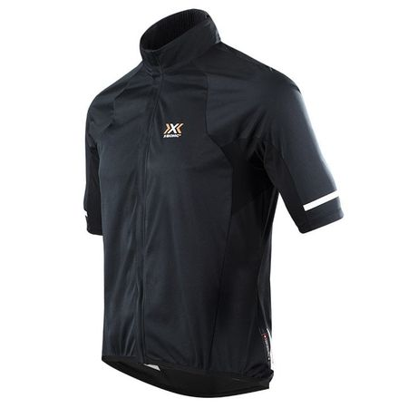 X-BIONIC Rain Short Sleeve Light Jacket, black Light Jacket, for men, size M, Bi