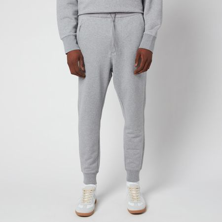 Y-3 Men's Classic Terry Cuffed Pants - Medium Grey Heather - L