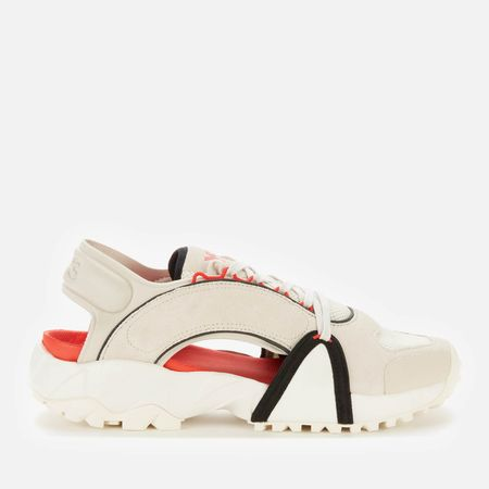 Y-3 Men's Notoma Sandals - Clear Brown/Off White/Red - UK 8
