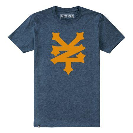 "Zoo York Heather Navy ""Corning"" Mens T-shirt"